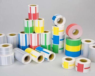 一般不干胶标签(铜版纸、热敏纸、合成纸、亚银PET等)